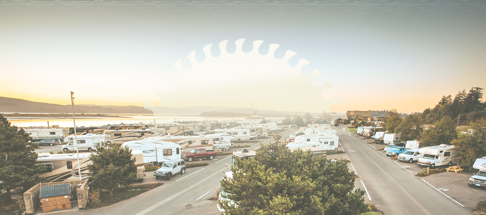 Aerial View Of Our RV Park