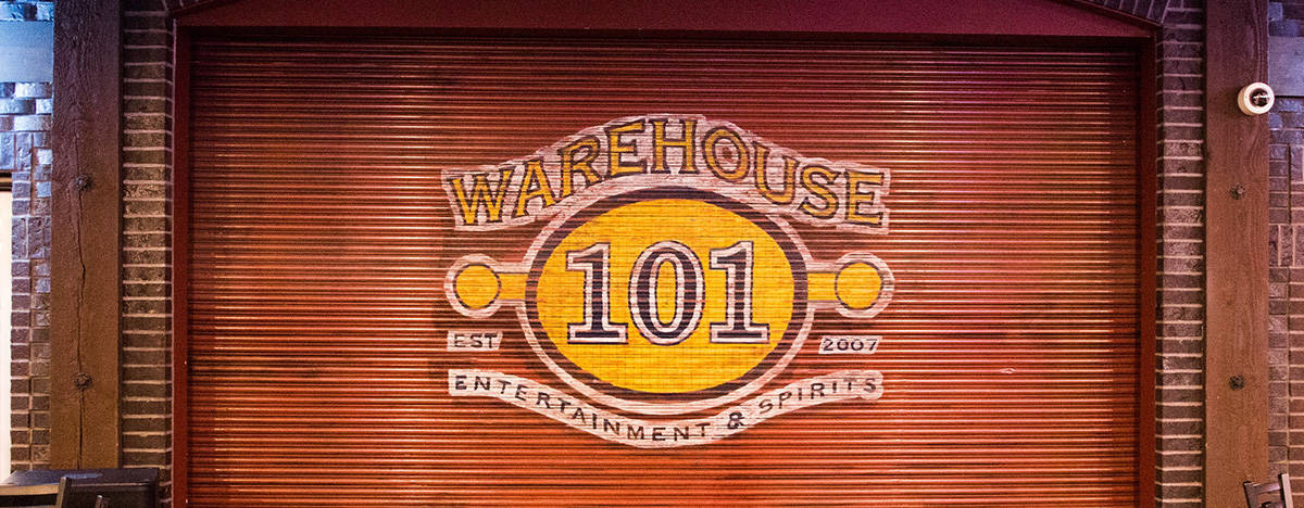 Warehouse 101 sign