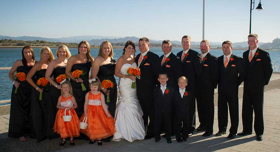Wedding Party at the Mill Casino.