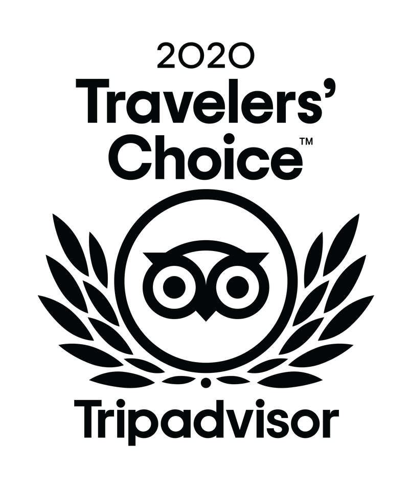 Tripadvisor 2020 Travelers' Choice Award