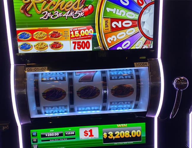 $3,208 on Cherry Riches