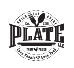 The Plate Food Truck Logo