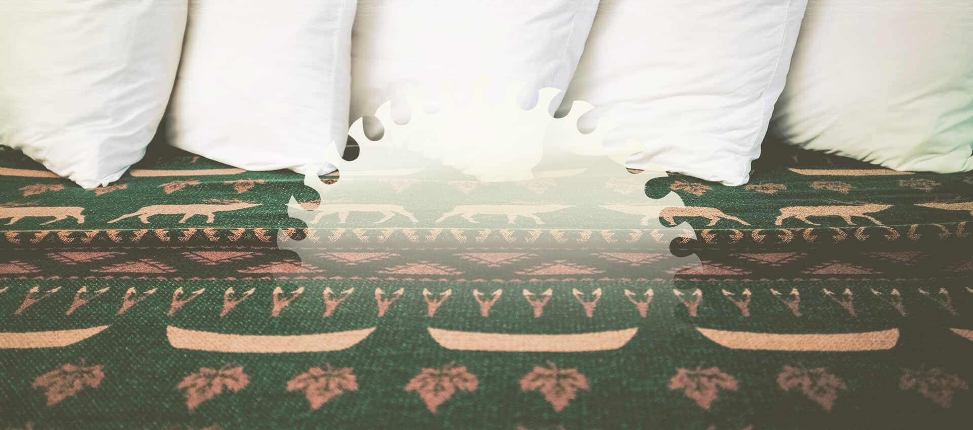 Pillows and bedding