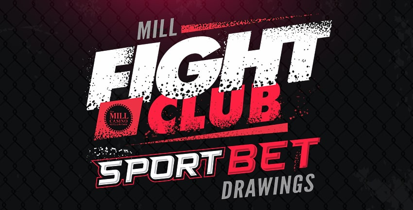 Fight club sports Bet Drawing Image