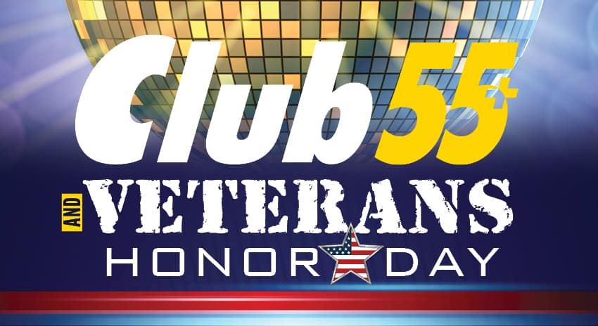 Club 55+ and Veterans Honor Day